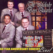 Melody Boys Quartet 60th Anniversary