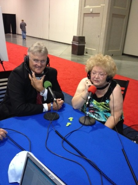 NQC 2012 Steve French of Kingdom Heirs and songwriter Dianne Wilkinson