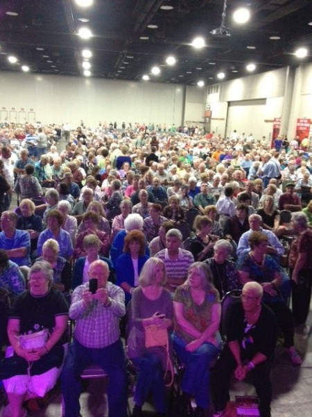 The Crowd at NQC 2012